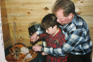 Carving the Turkey