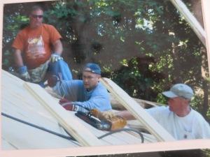 Roofing crew.